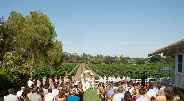 una boda entre viñedos