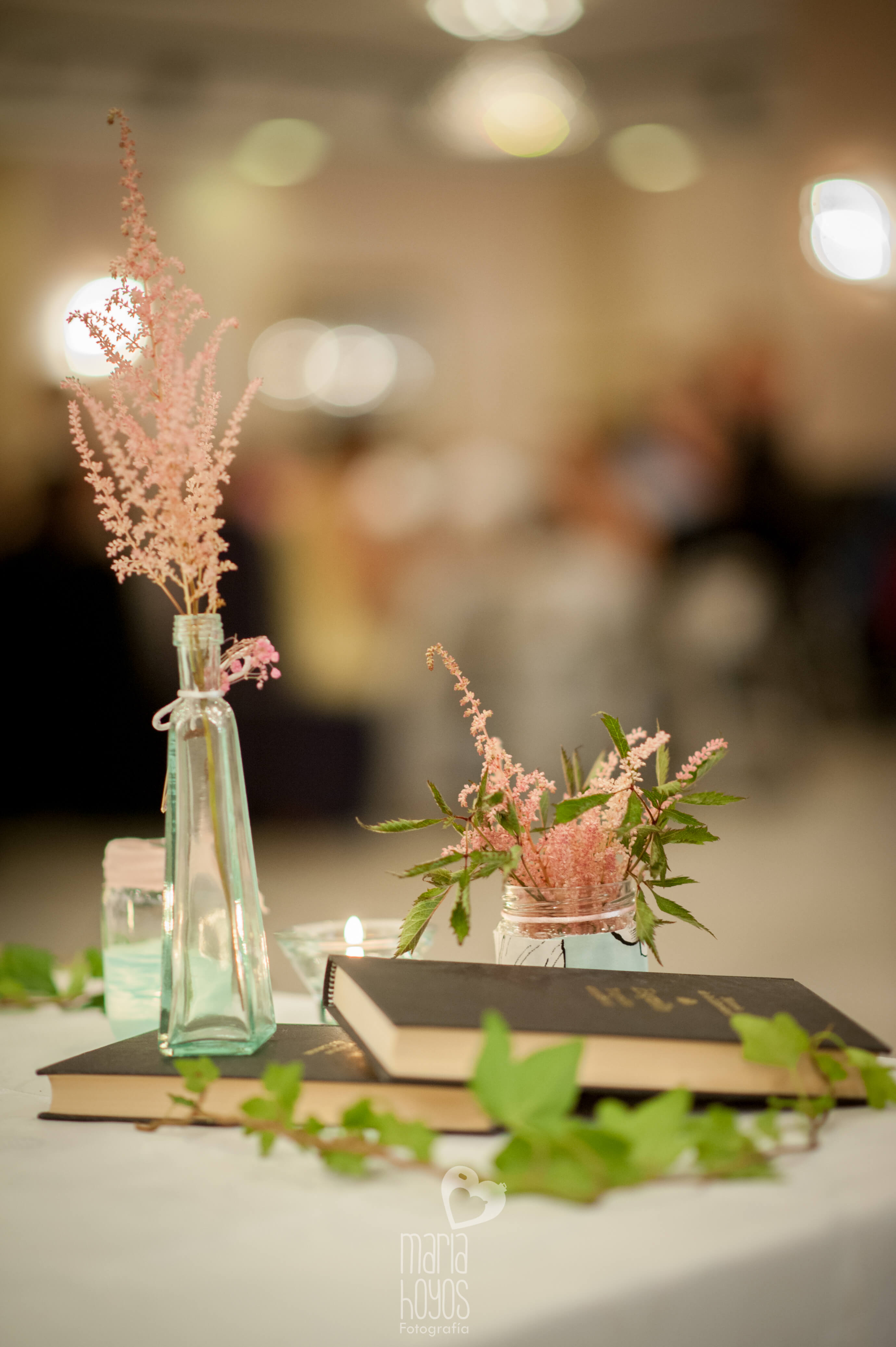detalle decoración mesas boda por Erase una Fiesta eventos