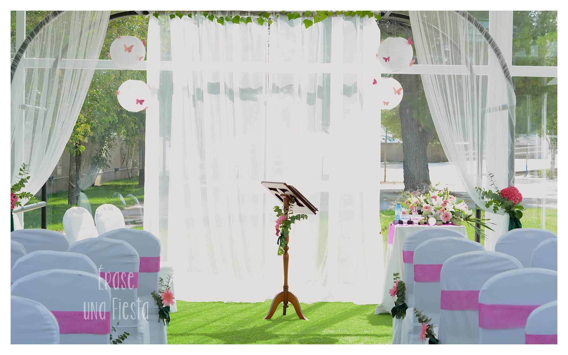 ceremonia boda por Erase una Fiesta