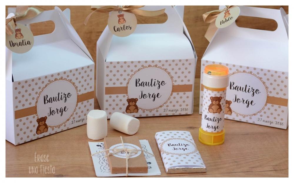Cajitas regalo personalizadas para niños - Erase una fiestaErase una ...