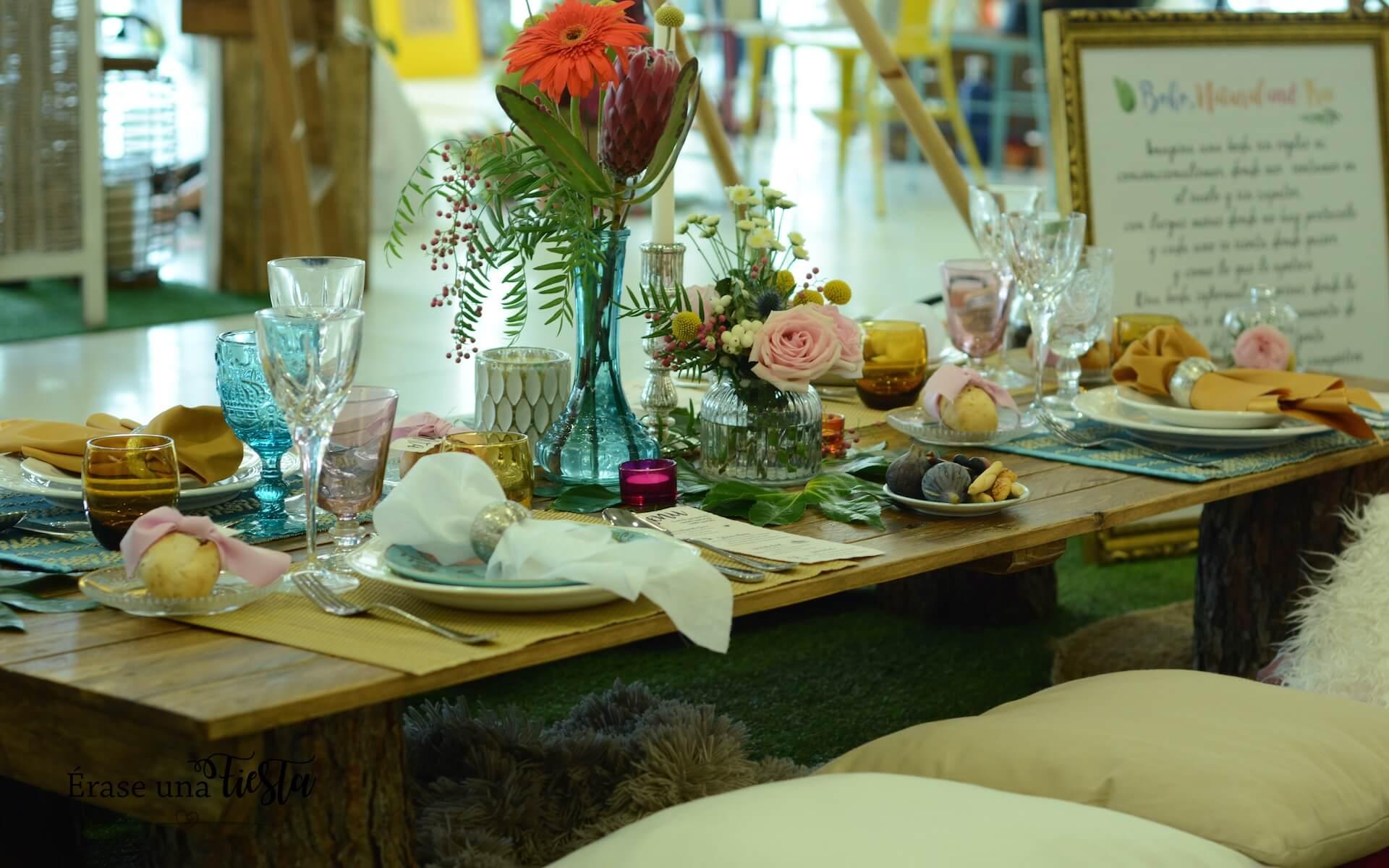 Nuestra mesa en Mi Boda Rocks Experience Valencia