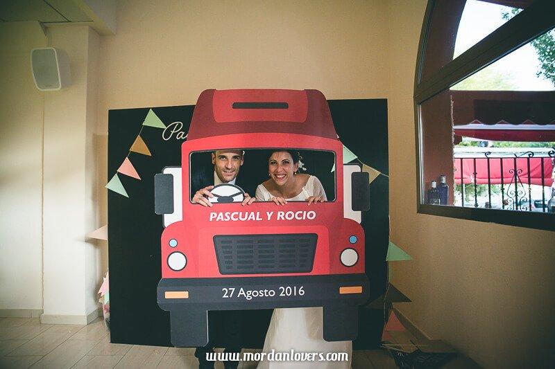 Boda Pascual y Rocío por Erase una Fiesta